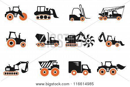 Symbols of Construction Machines