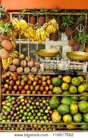 Fruit Stall In Ethiopia
