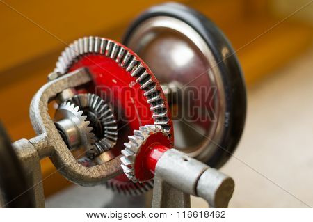 Differential gear - Model Close-up