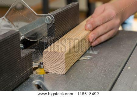 Carpenter Milled Wood Panel