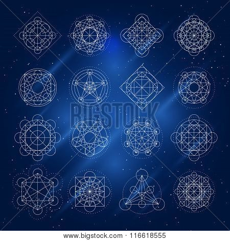 Vector Magic Geometry Signs