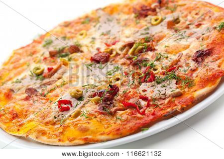 Meat Delicious Pizza