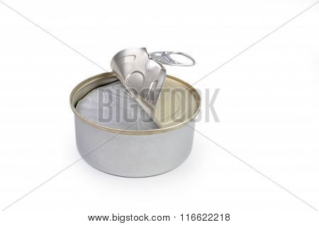 Opened Canned Cheese Bank