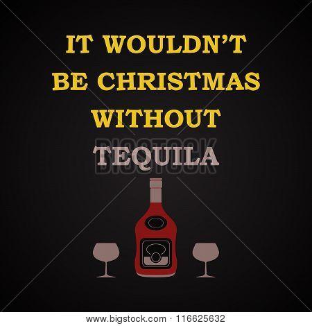 Christmas - funny inscription template