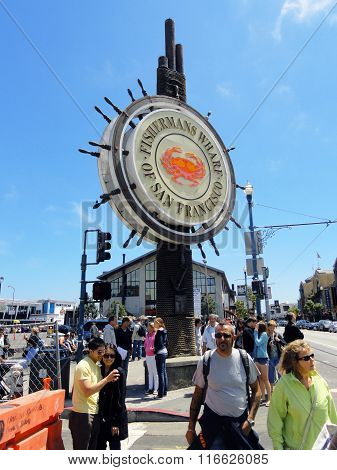 Famous Fisherman's Wharf Sign