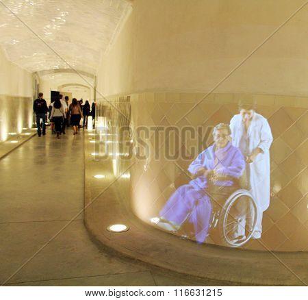 Hospital de Sant Pau hologram