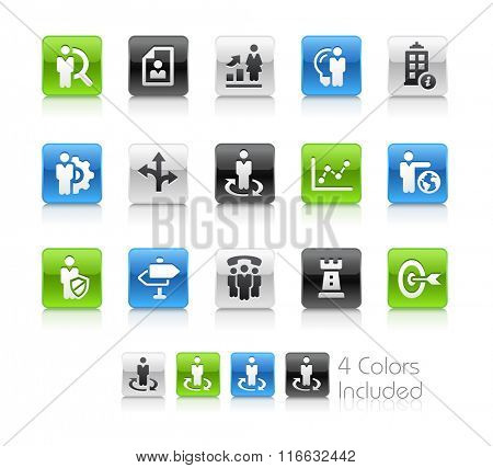 Company Strategies / The file Includes 4 color versions in different layers.