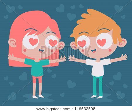 Cute Couple Madly In Love