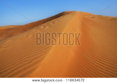 Landscape Of Dunes Background