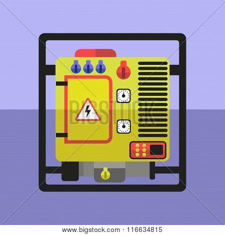 Flat generator