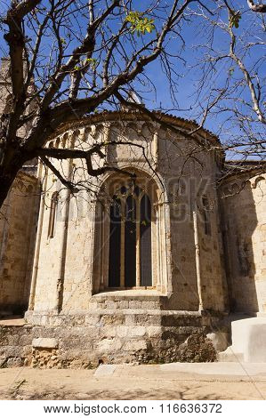 Apse Of The Romanesque Monastery Of Sant Cugat, Barcelona