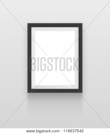 Realistic frame. Element for your design. JPEG version.