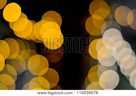 City lights blurred bokeh background, Festive Background, Vintage Magic Background With Color, Natur