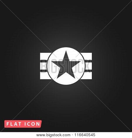 Abstract USA Flag Design