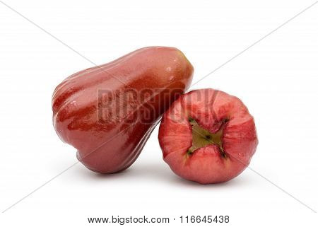 Rose Apple On The White Background