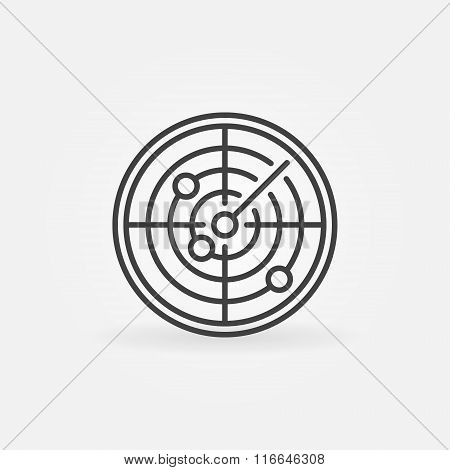 Radar icon or logo