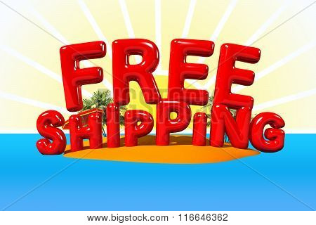 Free Shipping On Island