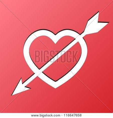 Heart Arrow Love