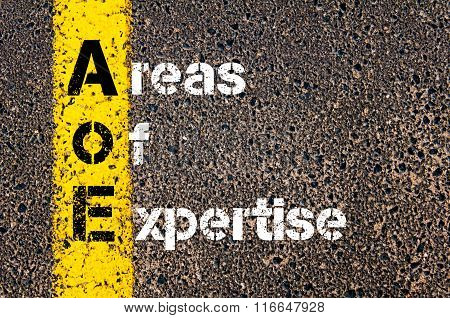 Business Acronym Aoe Areas Of Expertise