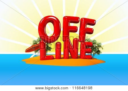 Offline On Island