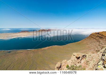 View From Mirador Del Rio, Lanzarote, Spain