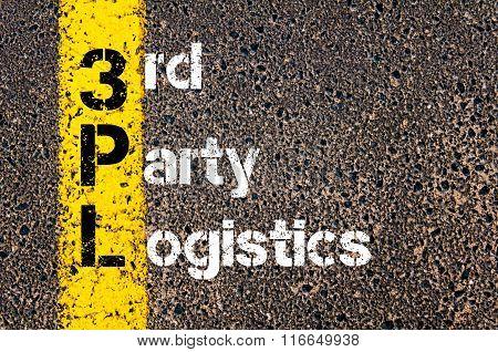 Business Acronym 3Pl Third Party Logistics