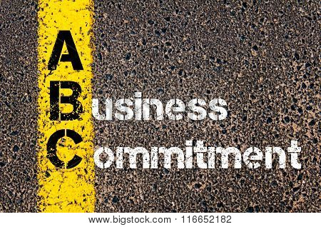 Business Acronym Abc A Business Commitment
