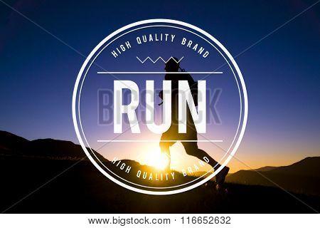 Run Rush Hurry Exercise Active Busy Jogging Concept