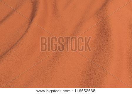 Orange Rippled Fabric