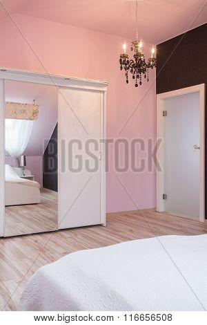 Wardrobe With Glass Door