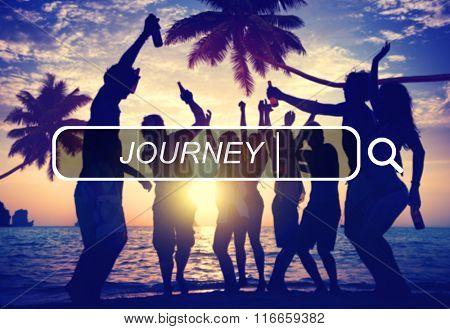 Journey Travel Destination Expedition Exploration Concept