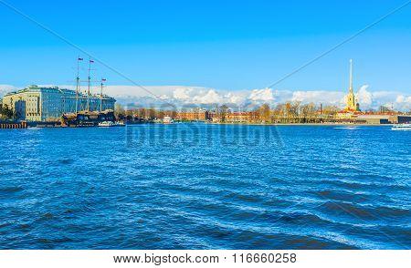 The Neva Embankment