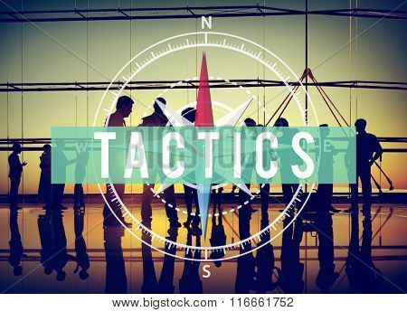 Tactics Strategy Business People Concept