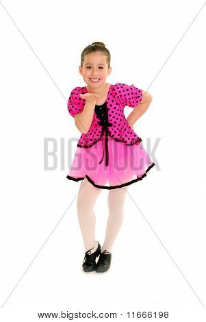 Sassy Child Tap Dancer