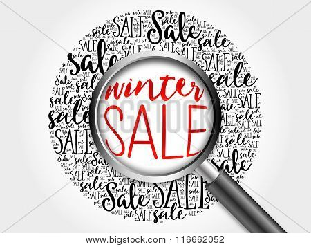 Winter Sale Word Cloud