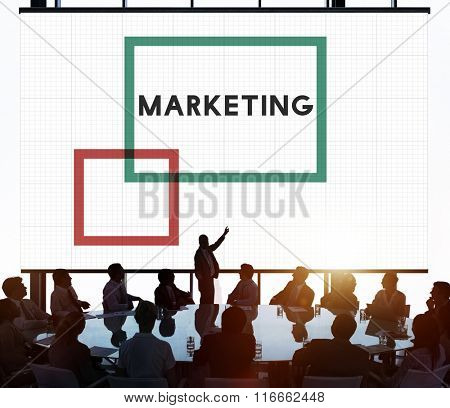 Market Marketing Advertisement Commercial Consumer Concept
