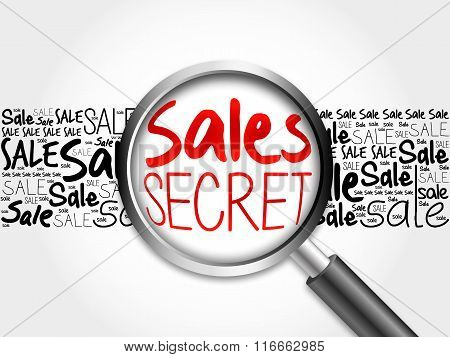 Sales Secret Sale Word Cloud