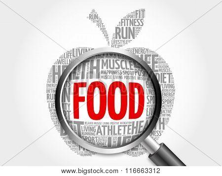 Food Apple Word Cloud