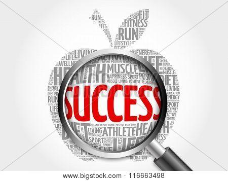 Success Apple Word Cloud