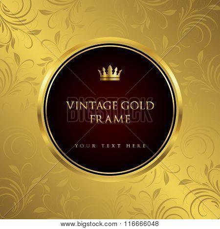 Luxury vintage background