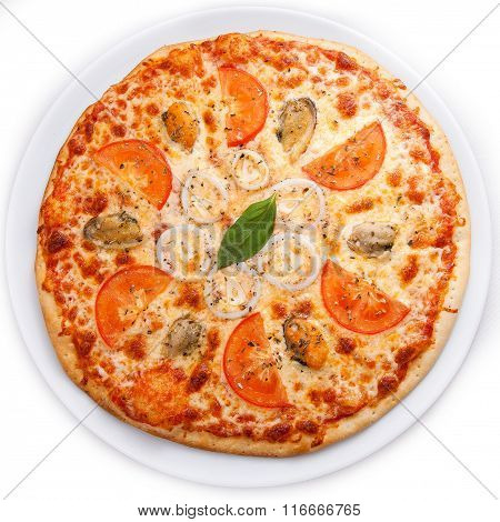 Seafood Italian Pizza