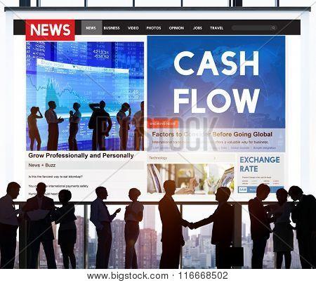 Cash Flow Finance Economy Credit Business Concept