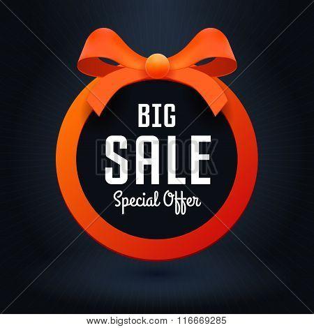 Vector Illustration For Business, Big Sale Banner