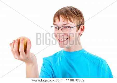 Kid With The Apple