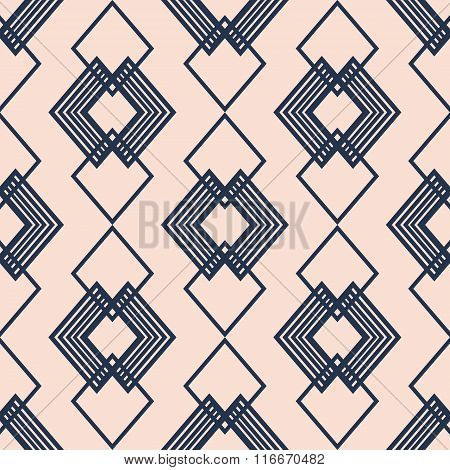 Hipster Chevron seamless pattern background