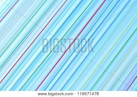 Plastic drinking straws as background