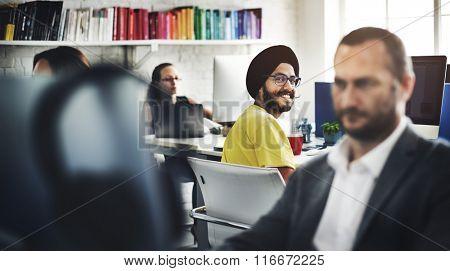 Contemporary Cooperation Coworker Design Concept