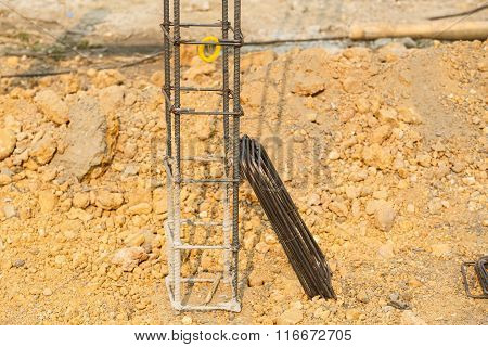 Foundation Steel Rod For House Building