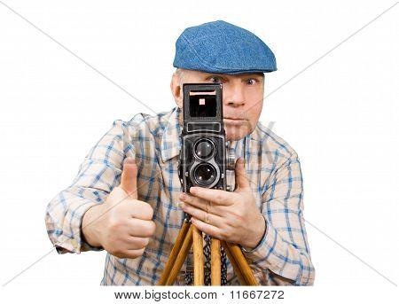 Photographer Camera Classic Photoshoot