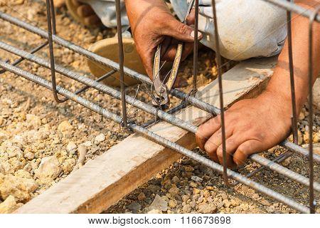 Technician Bundle Wire Steel Rod For Construction Job